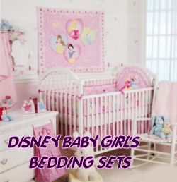 Disney baby nursery crib bedding sets.  Disneyworld theme nursery bedding and decor