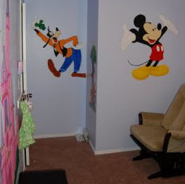 baby mickey mouse goofy disney baby nursery theme