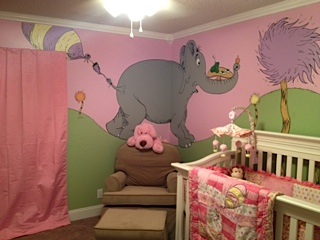 Dr Seuss Nursery Theme Why Fit In When You Were Born To