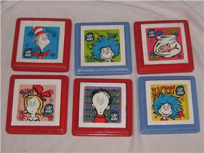 dr seuss plaques wall decorations