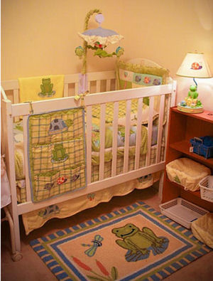 Dragonfly And Frog Nursery