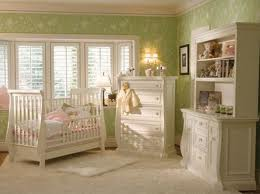 Lovely dreamy green nursery ready for my coming baby
