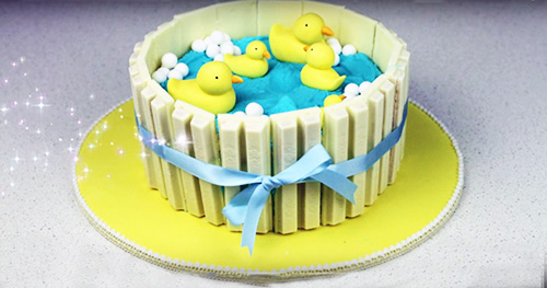 Rubber Duck Theme Baby Shower Ducky Baby Shower Ideas