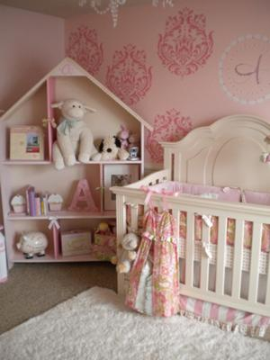 Whimsical and Elegant PInk Dreamland Baby Nursery Decor