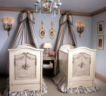 Elegant Twin Boys Nursery