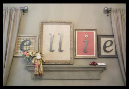 Ellie's romantic vintage nursery