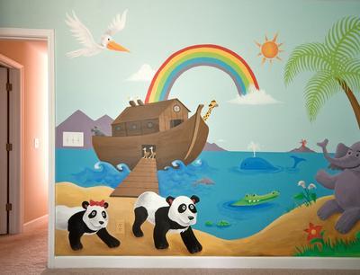 Emma S Noahs Ark And Jungle Nursery Theme