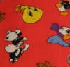 looney tunes tweety bird flannel quilt fabric fleece baby quilting