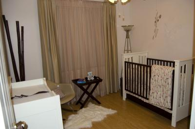 Fabulous Urban Modern Ethnic Chic Baby Nursery Design