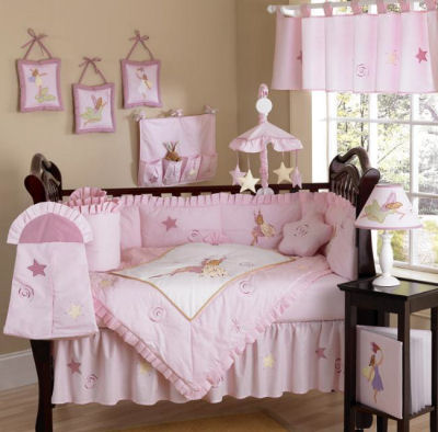 Precious Baby Girl Pink Nursery Ideas Themes Home