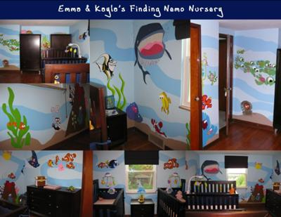 Finding Nemo Nursery Theme