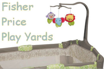 Fisher Price Play Yard Selections With Sheets In Pretty Fabrics