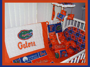 florida gators baby bedding nursery crib college football