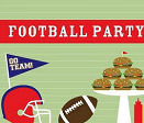 Football theme baby shower ideas and decorations