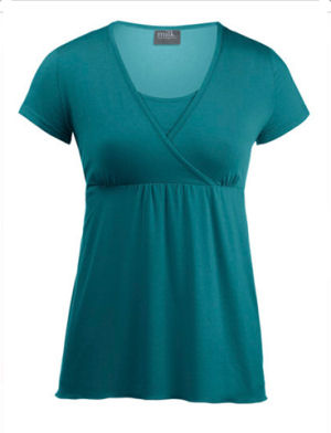 Chic Crossover Nursing Top