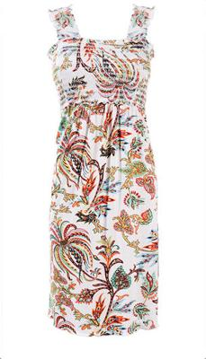 Cute Summery Dress that Functions Like a Nursing Top