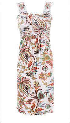 Cute Summery Dress that Functions Like a Nursing Top