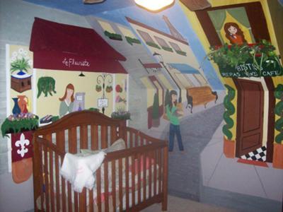 Ooh La La Paris Baby Nursery Decor