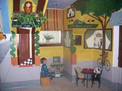 Ooh La La Paris Baby Nursery Wall Painting