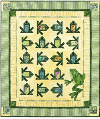frog quilt patterns baby pattern quilting