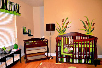 Cute Frog Nursery Theme Decorating Ideas