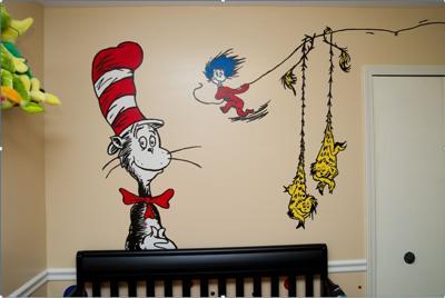 Fun And Vibrant Dr Seuss Nursery Part 79