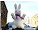large big giant stuffed easter bunny rabbit toy doll