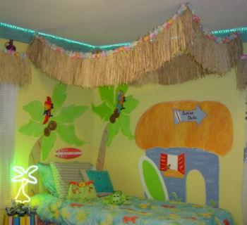 Unique Bedroom Designs on Girls Beach Bedroom Ideas Bedding Surf Surfing Surfboard