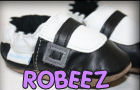 robeez baby shoes crib booties boots infant newborn black white