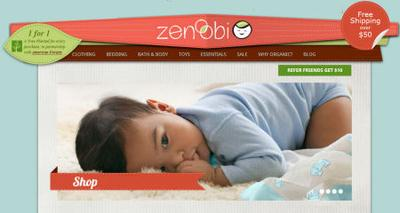 Zenoobi has natural and eco-friendly baby products