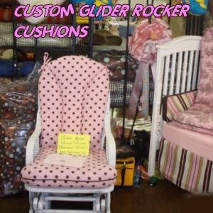 custom glider rocker replacement cushion sets rocking chair
