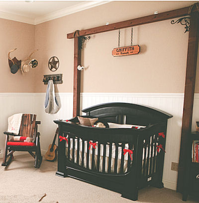 Cowboy Baby Nursery Theme Ideas and Decor