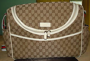 Gucci baby changing bag diaper