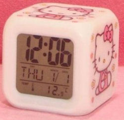 Hello Kitty Baby nursery LED light and thermometer