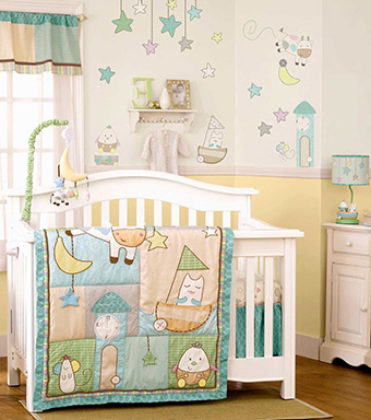 Hey Diddle Diddle Nursery Bedding