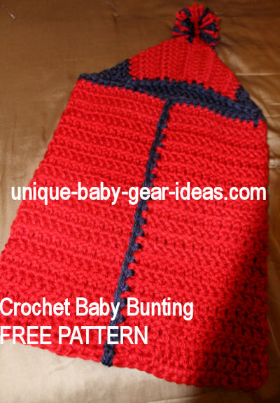 Hooded Crochet Baby Bunting Crocheted From FREE Hooded Baby Bath Magnificent Crochet Baby Bunting Pattern