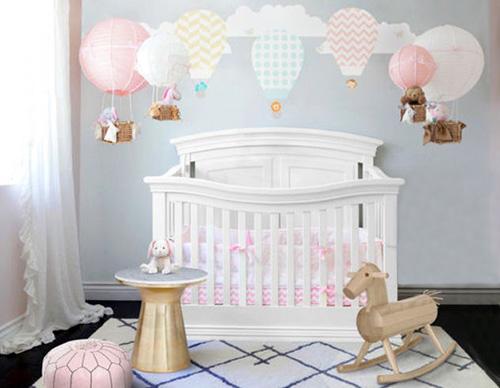 Diy Hot Air Balloon Nursery Theme Decor Ideas For Baby
