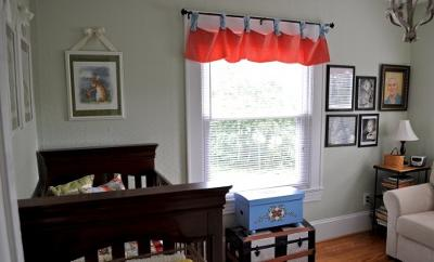 Vintage Baby Nursery in a Craftsman Style Historic Home