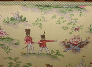 nursery rhyme toile baby crib nursery bedding set green gingham gender neutral unisex quilt custom