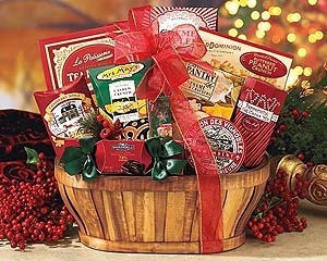 examples and instructions for making gift baskets