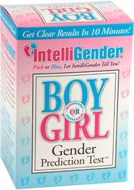 Intelligender Baby Gender Test has been reported to be very accurate!