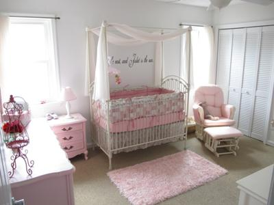 Juliet's Romantic Pink Gingham Palace