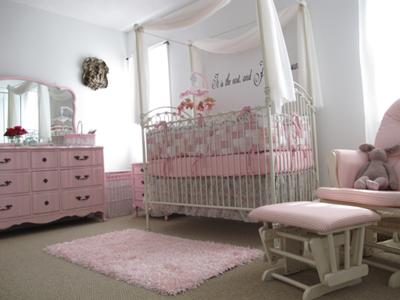 Can't have enough pink in our baby girl's room!