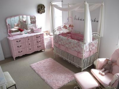 Juliet's Sweet Pink Gingham Nursery