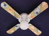 jungle animals kids nursery baby ceiling fan