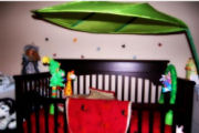 tropical jungle rainforest baby nursery pictures pics decorating room ideas