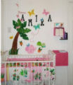 pink baby girl girls rainforest baby nursery pictures pics decorating room ideas
