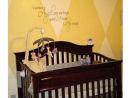yellow and brown gender neutral baby boy girl safari jungle nursery zebra animals wild zoo diamond wall wall painting paint painted