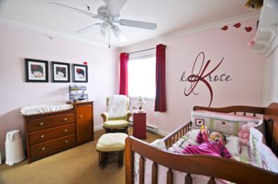 Our Baby Girl, Katia's, Ladybug Nursery Decor