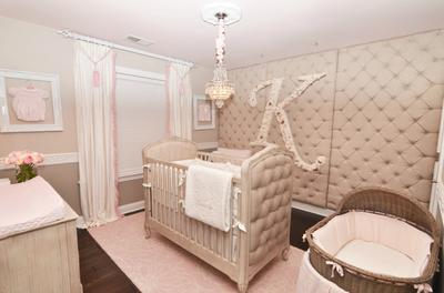 Kennedy's Elegant Pink and Grey Rococo Palace Nursery Theme Design Fit for a Princes
